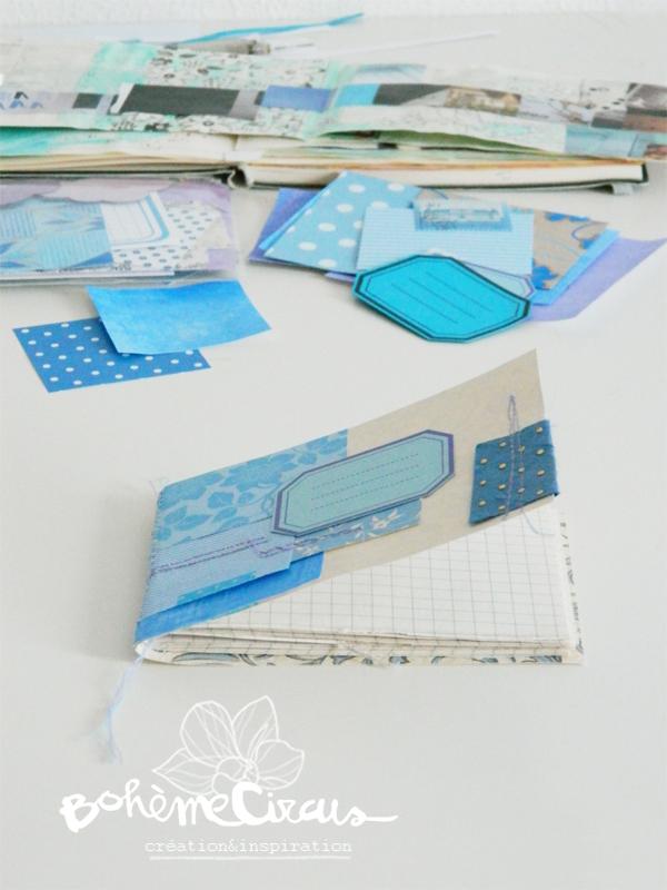 inspiration  - creativity - créativité - bohème circus  -  kit papiers - papers