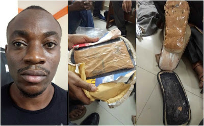 India arrests Nigerian Man with $525K of narcotics