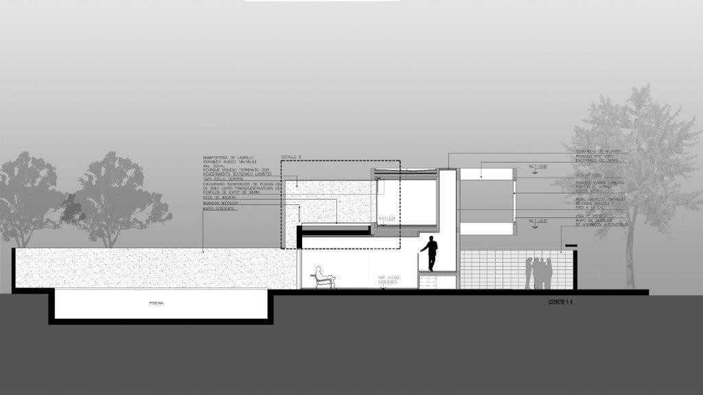 Habitar casa en city bell for Cocina definicion arquitectura