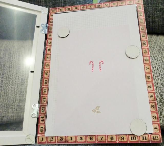Resultado de la prueba con ambos tipos de sello sobre hoja cuadriculada y cartulina de estampación