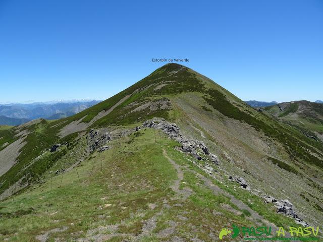 Ruta al Tres Concejos y Estorbin: Camino al Estorbín de Valverde