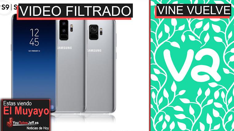 Galaxy S9 en funcionamiento, Sucesor de Vine, Instagram Privacidad, Qualcomm es multado | El Muyayo