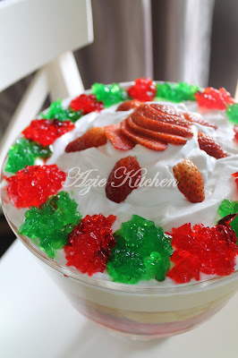 Puding Trifle Azie Kitchen