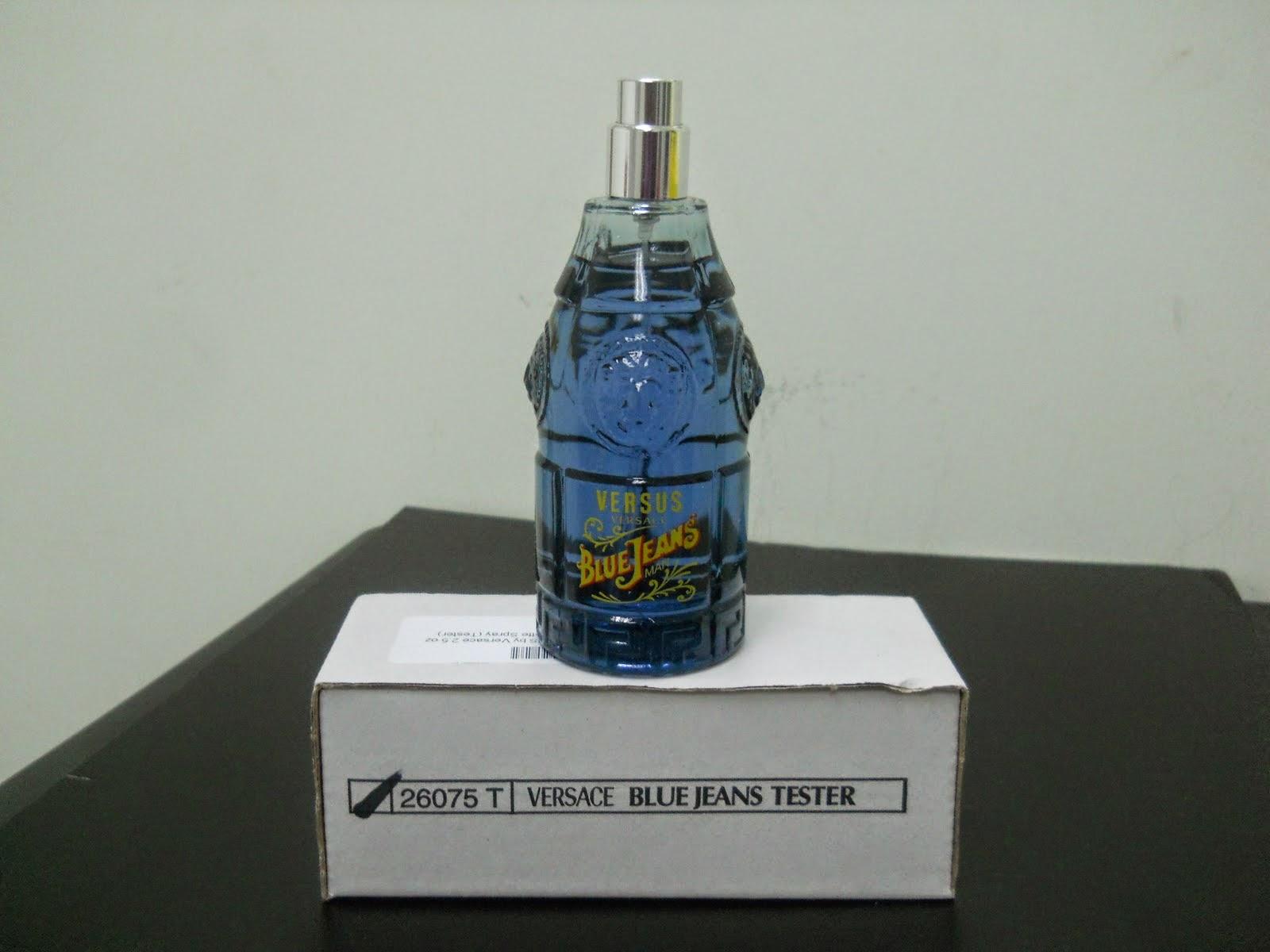 HouseTester Versace PerfumeVersus Unit Jeans Men Blue Ab Perfume wkPN8n0OX