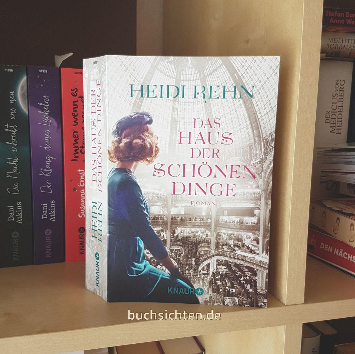 Buchsichten: [Rezension Ingrid] Das Haus der schönen Dinge von Heidi ...