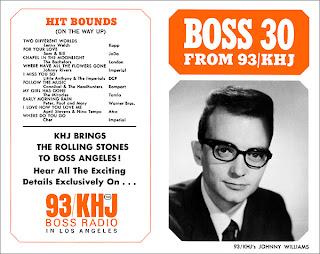 KHJ Boss 30 No. 12 - Johnny Williams (Orange Cover)