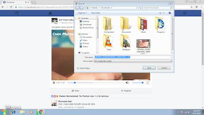 Tutorial Gampang Download Video di Facebook 6