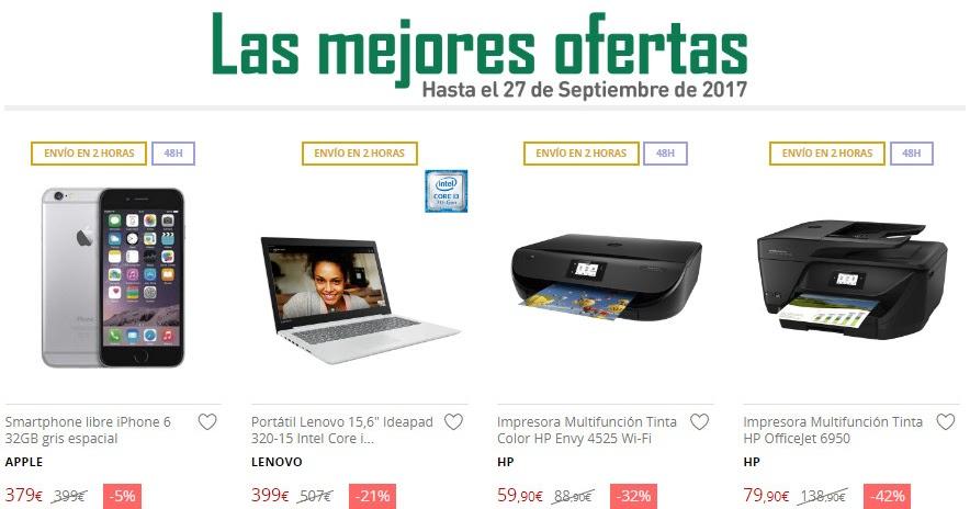 Las mejores ofertas hasta el 27 de septiembre de el for Ofertas de portatiles en el corte ingles