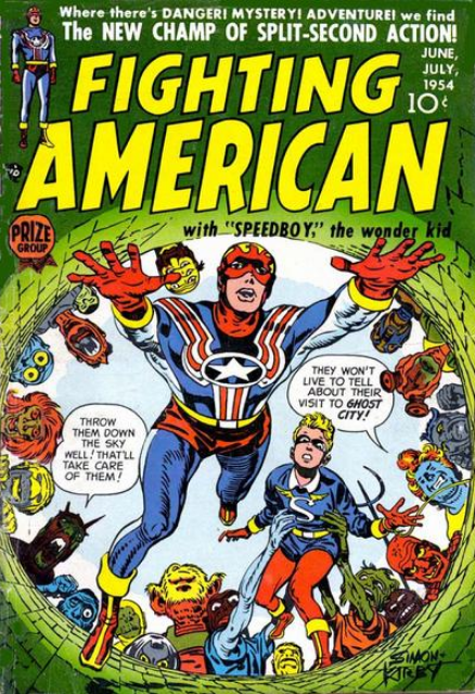 Simon-Kirby Fighting American