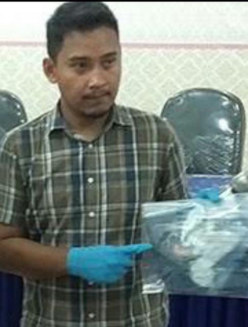 Kasat Reskrim Polres Asahan AKP Ricky Pripurna Atmaja SIK.