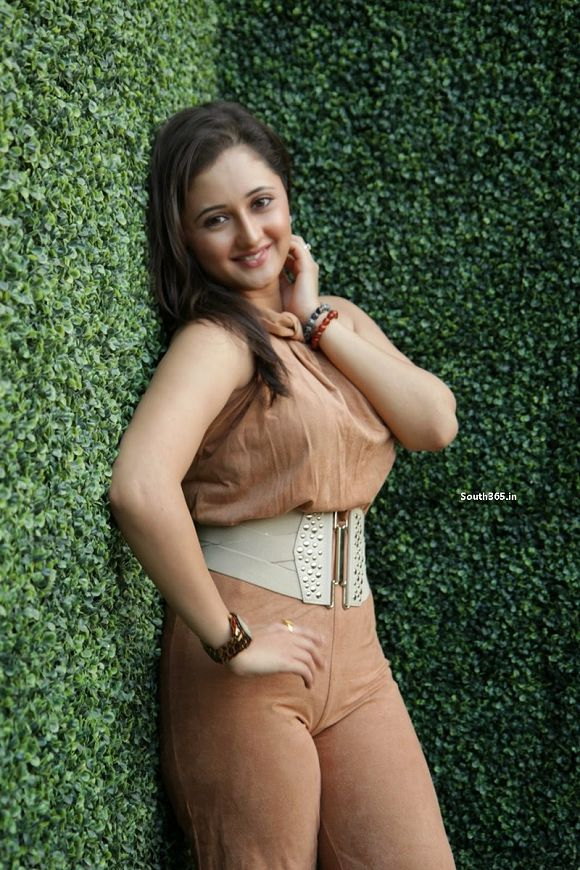 Rashami Desai IN TIGHT OUTFIT exposing cleavage