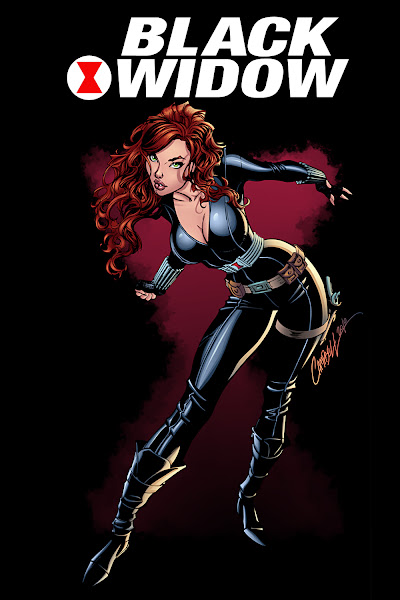 black widow comics