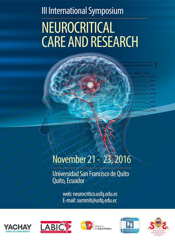 Yachay y la USFQ presentan el III Simposio Internacional de Cuidados Neurocríticos e Investigación