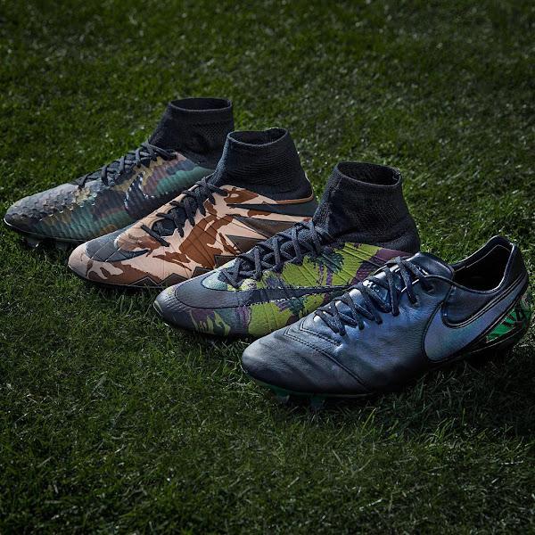 Gewagtes Nike Camo Pack veröffentlicht Nur Fussball