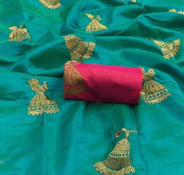 Sana 2tone Jhumki Sarees 750