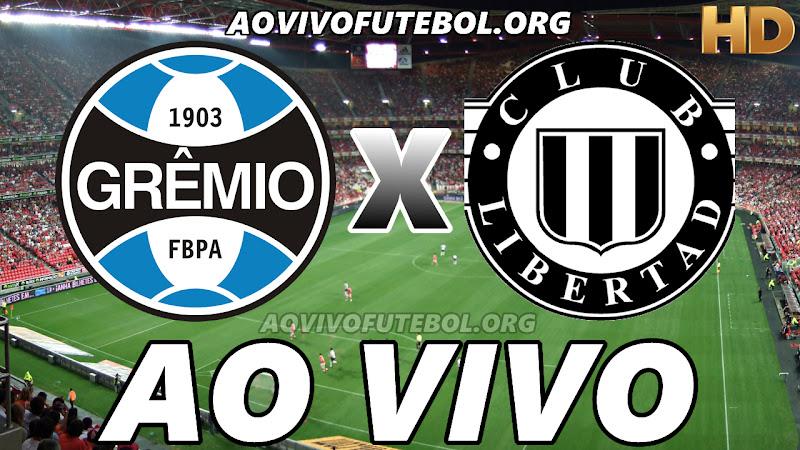 Grêmio x Libertad Ao Vivo na TV HD