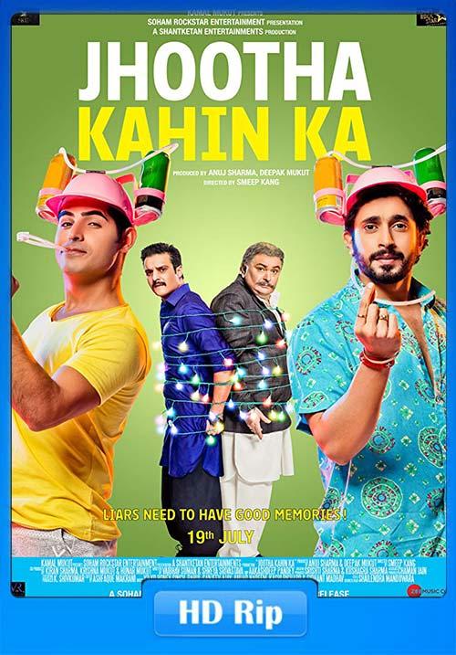 Jhootha Kahin Ka 2019 Hindi 720p HDRip x264 | 480p 300MB | 100MB HEVC