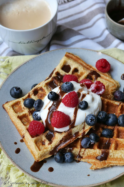 Skyr-Waffeln | Backen | Dessert | Rezept | Essen | Weight Watchers