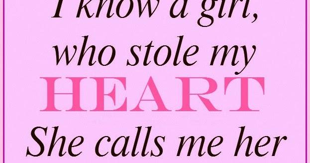 Daveswordsofwisdom.com: The Girl Who Stole My Heart