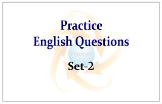 Practice English Questions for Upcoming Bank PO and Clerk Exams Set-2