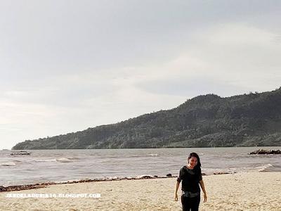 Pesona Keindahan Pantai Bosur Tapteng