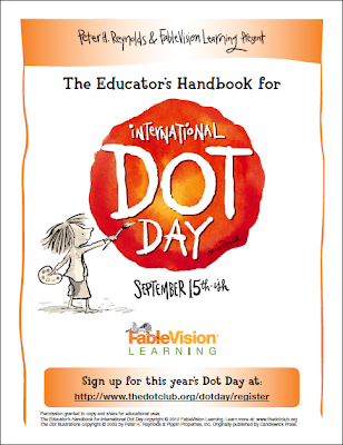"Celebrate International Dot Day on September 15th and inspire your students to think about how they can ""make their mark"" on the world! These free resources will help get you started!"