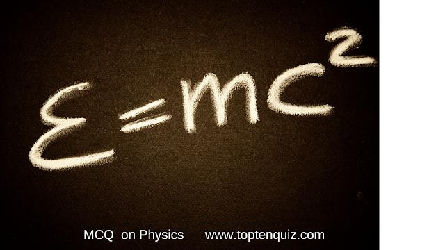 Physics MCQ on Units (Set 2)