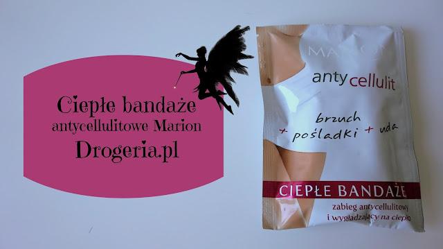 RECENZJA: Ciepłe bandaże antycellulitowe Marion | Drogeria.pl