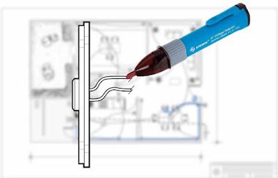 Instalaciones eléctricas residenciales - Verificando polaridad de cables en botón de timbre