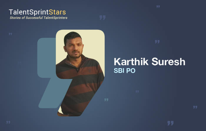 Secrets of Karthik Suresh Becoming a Bank Officer