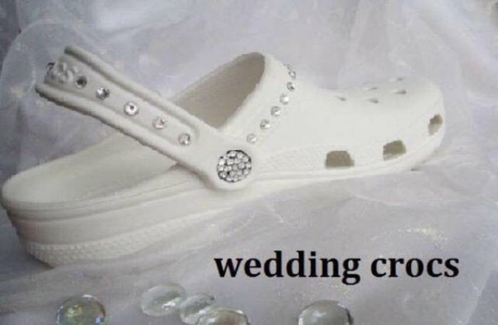 Crocs de casamento