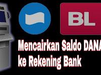 Cara Mencairkan Saldo Dana Ke Rekening Bank Sendiri