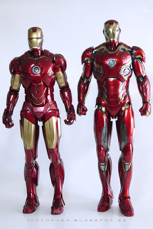 toyhaven: Hot Toys 1:6 scale Collectible Iron Man Armor ...