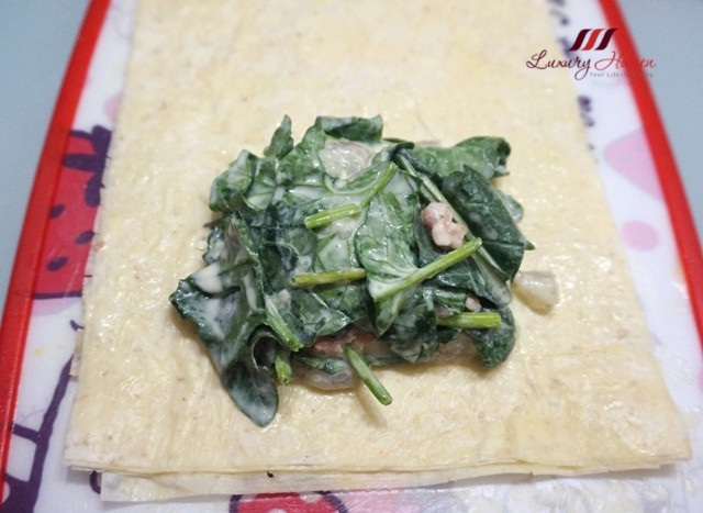 fillo factory whole wheat phyllo sheets with spinach
