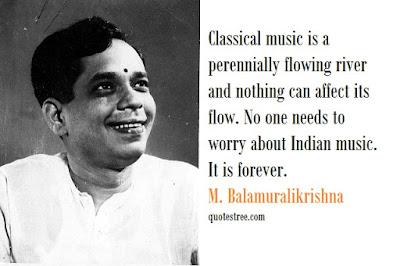 M. Balamuralikrishna Quotes