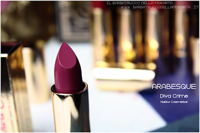 ARABESQUE REVIEW diva crime goldust collection Nabla cosmetics