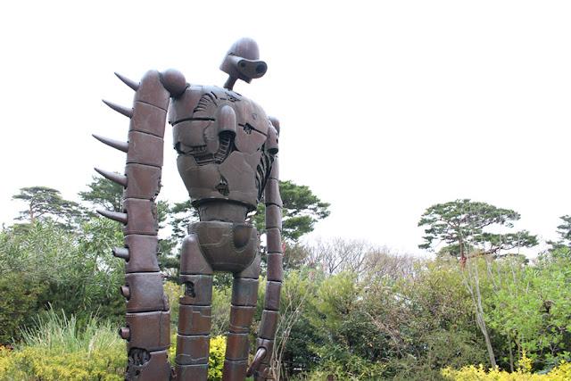 Le robot de Laputa au Musée Ghibli - Mitaka, Japon