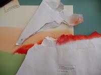 tintar papel