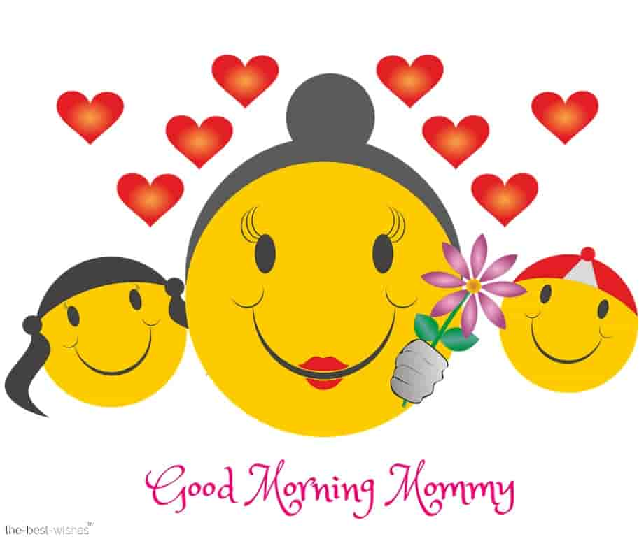 good morning mommy emoji