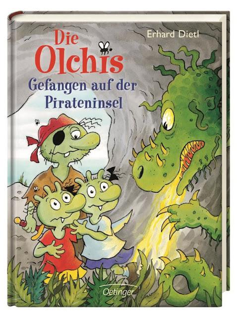 Die Olchis Gefangen auf der Pirateninsel Oetinger Monster Kinderbuch Kinderbücher