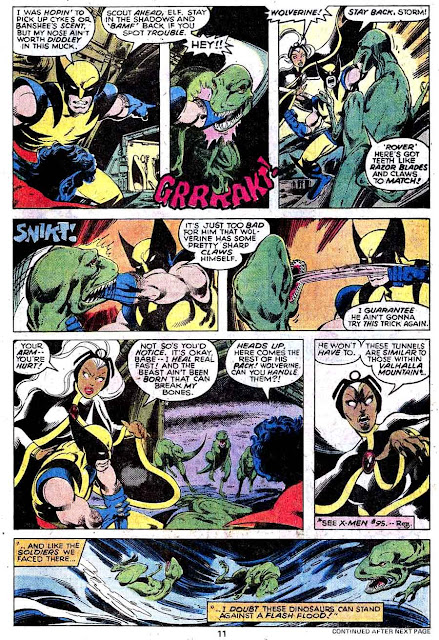 X-men v1 #116 marvel comic book page art by John Byrne