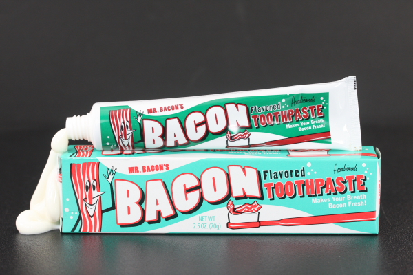 Bacon Jelly Gallery Bacon Flavored Toothpaste