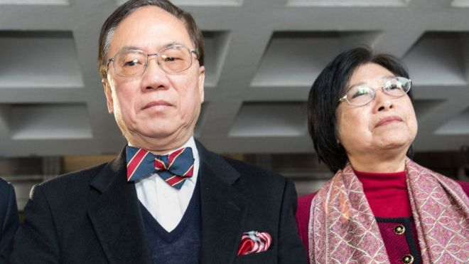 Donald Tsang: Hong Kong ex-leader guilty of misconduct