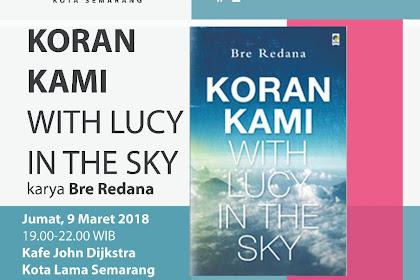 Diskusi buku senja kala media cetak bersama AJI Semarang