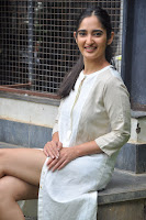 Radhika Cute Young New Actress in White Long Transparent Kurta ~  Exclusive Celebrities Galleries 060.JPG