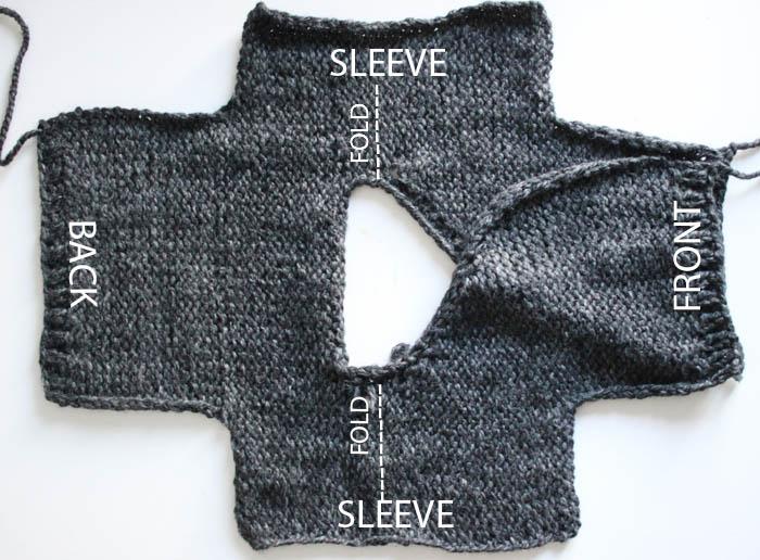 Toddler Kimono Sweater Knitting Pattern Gina Michele