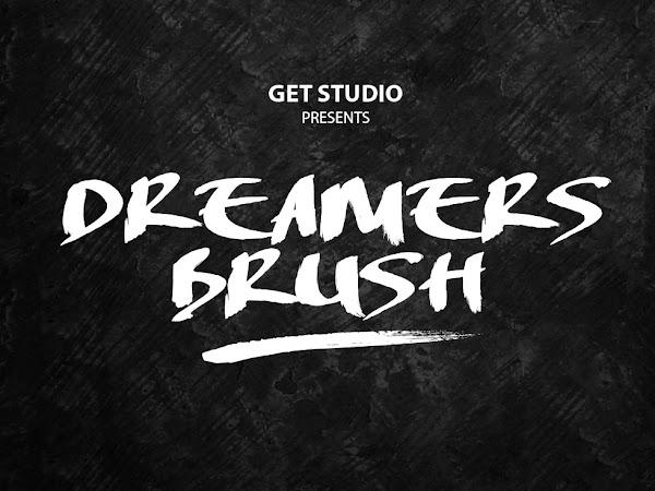 Dreamers Handmade Brush Font Free Download
