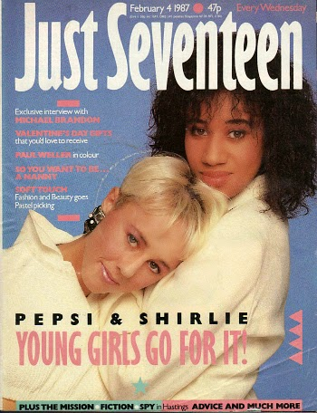Just Seventeen Feb 1987 ft. Pepsi & Shirlie