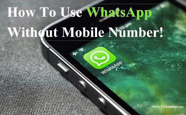 How to Use Whatsapp without Phone Number in Hindi