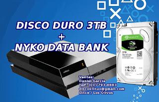 Disco Duro 3TB ST3000DM008  para PS4 Lima Peru